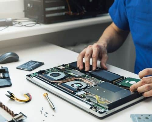 Laptop repair and data recovery
